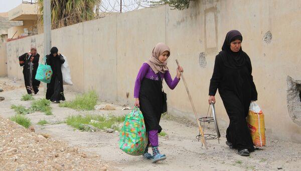 Беженцы в Ираке. Архивное фото