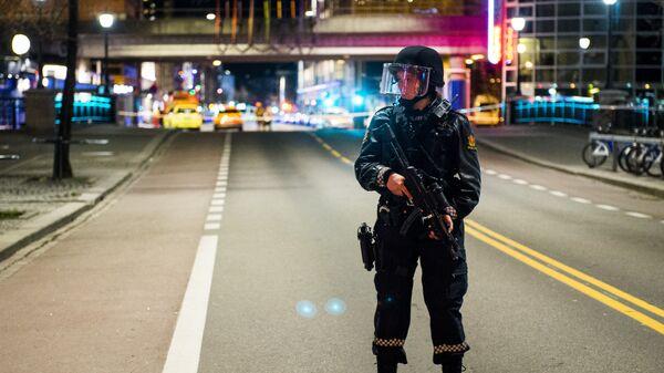 Сотрудница полиции в Осло