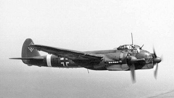 Немецкий самолет Юнкерс 88. 1942 год