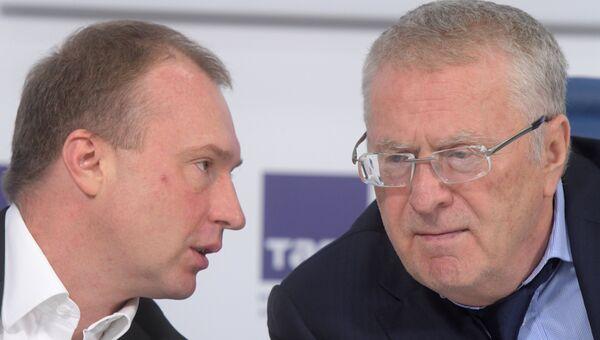 Игорь Лебедев и Владимир Жириновский. Архивное фото