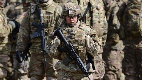 Американская военная. Архивное фото