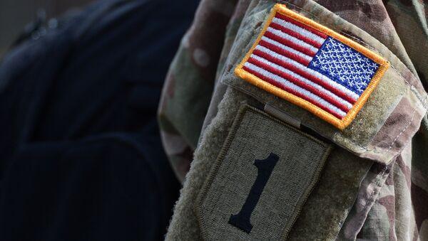 Нашивка на форме американского военнослужащего. Архивное фото