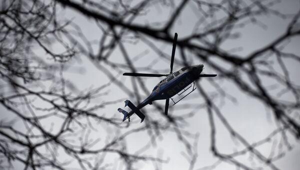 Вертолет турецкой полиции. Архивное фото