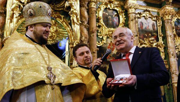 Церемония передачи РПЦ Сампсониевского собора в Санкт-Петербурге