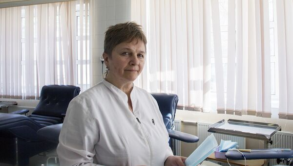 Елена Кобзева, заведующая отделением трансфузиологии НИИ СП им. Н.В.Склифосовского