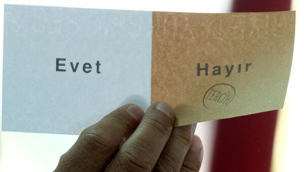 Референдум по изменению конституции Турции. Архивное фото