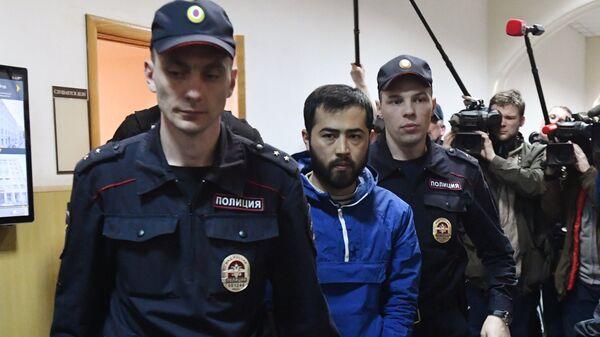 Подозреваемый в соучастии организации теракта в Петербурге Акрам Азимов