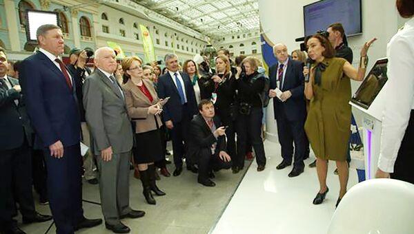 Церемония подписания партнерского соглашения между Общероссийской общественная организация Лига здоровья нации и компанией Санофи в области борьбы с неинфекционными заболеваниями