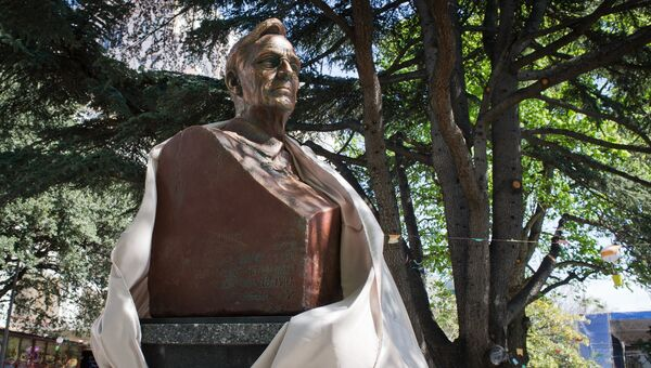 Открытие памятника Рузвельту в Крыму