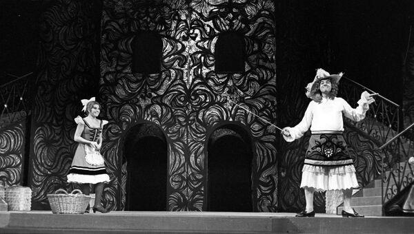 Спектакль Мещанин во дворянстве в Театре имени Вахтангова