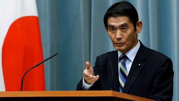 Министр по делам восстановления после стихийных бедствий Масахиро Имамура. Архивное фото