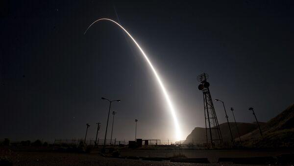 Испытания межконтинентальной баллистической ракеты Minuteman III. Апреля 2017