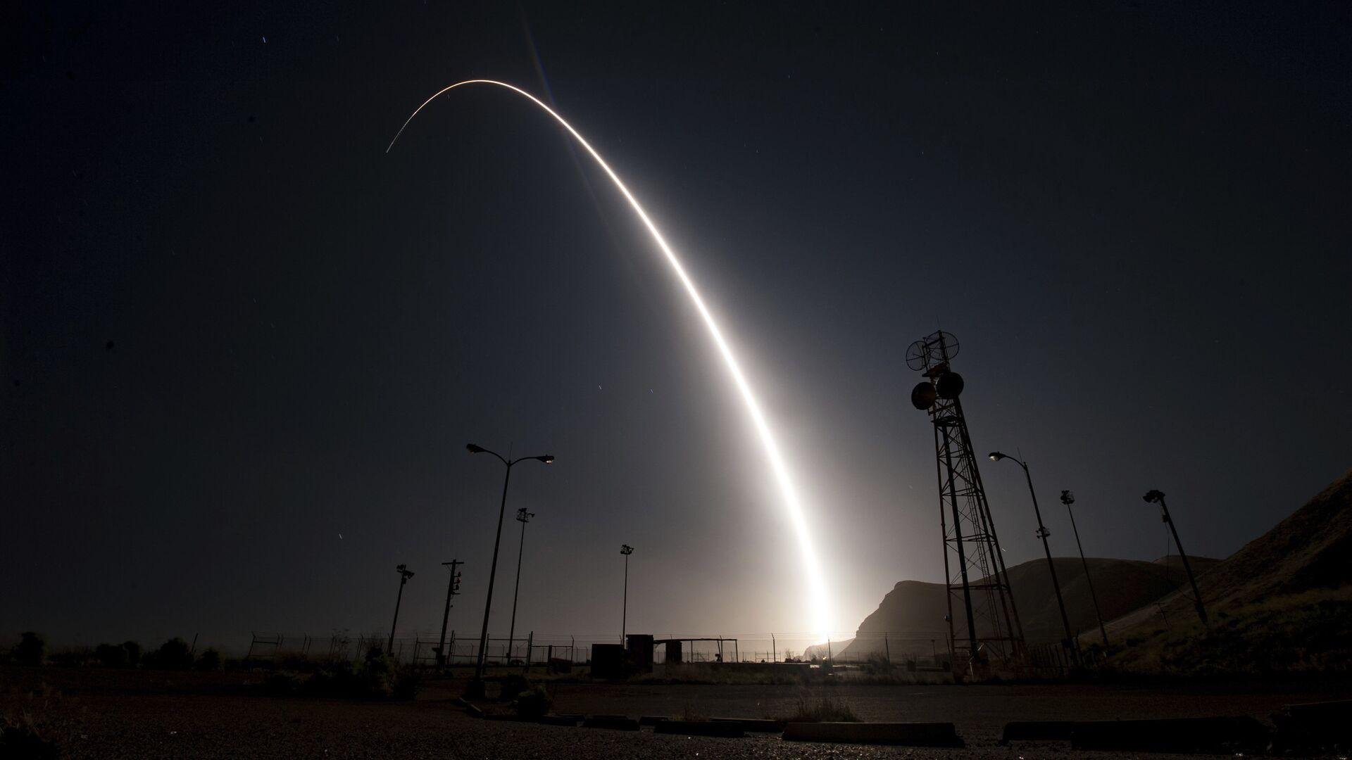 Испытания ракеты - РИА Новости, 1920, 14.06.2021