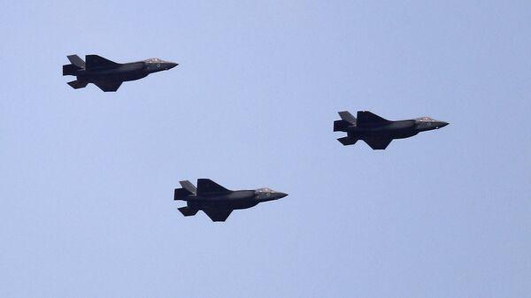 Истребители F-35 ВВС Израиля. Архивное фото