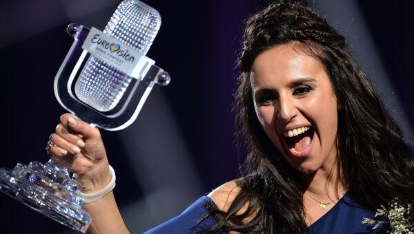 Победительница конкурса Евровидение-2016 Джамала. Архивное фото