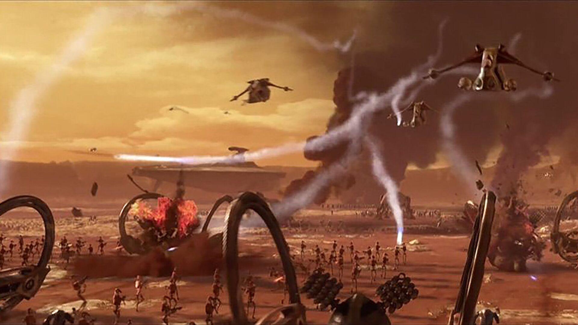 Кадр из фильма Звездные войны: Эпизод II - Атака клонов - РИА Новости, 1920, 18.10.2020