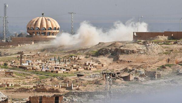 Ситуация на окраине Дейр-эз-Зора. Архивное фото