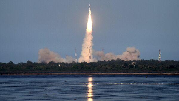 Индийская ракета-носитель. Архивное фото