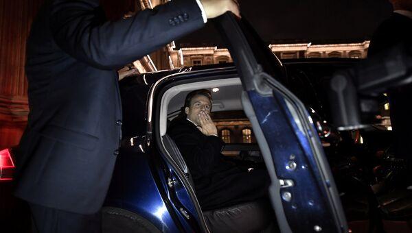 Лидер движения En Marche Эммануэль Макрон, победивший на президентских выборах во Франции