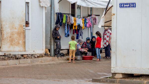 Лагерь для беженцев в Килисе, Турция