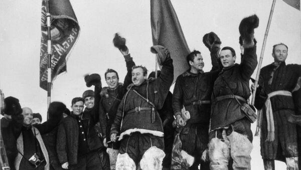 Советская полярная экспедиция Северный полюс-1