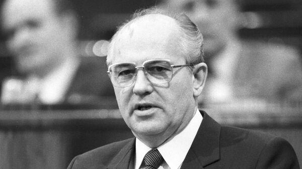 Президент СССР М. С. Горбачев отметил свое 88-летие