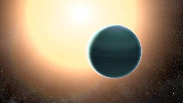 Экзопланета HAT-P-26b размерами с Нептун, атмосфера и недра которой состоят из гелия и водорода