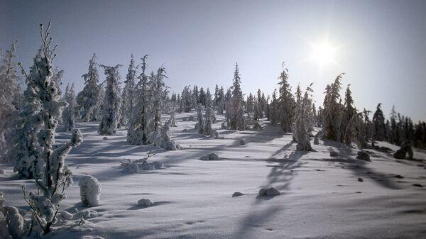 В районе Оймякона зарегистрирована самая низкая температура (-64°C)