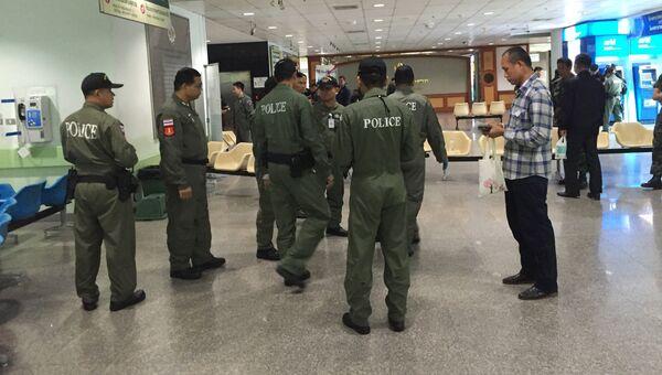Сотрудники полиции Таиланда. Архивное фото