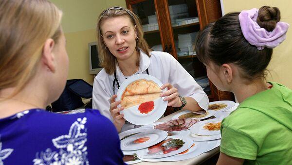 В поликлиниках Москвы начата кампания по предупреждению диабета у детей
