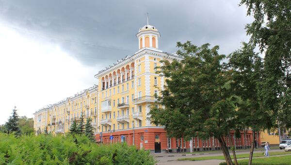 Город Новокузнецк. Бульвар 25 лет Октября