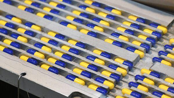 Фармацевтическое производство. Архивное фото