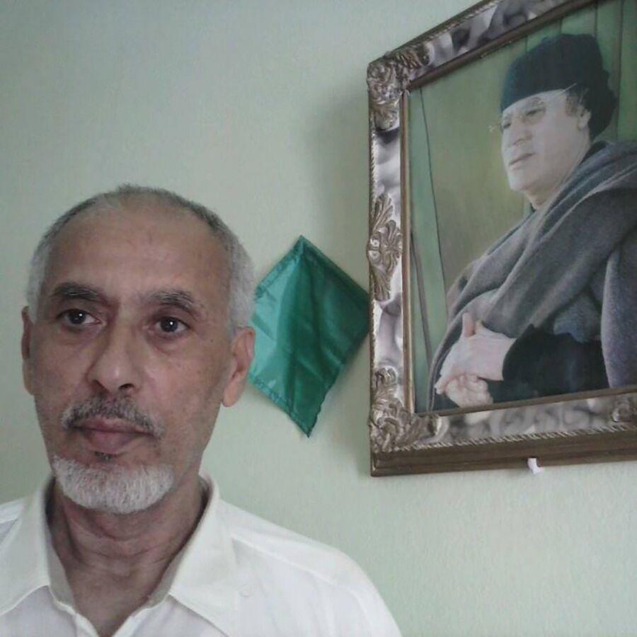 Бывший чиновник правительства Муаммара Каддафи Тахар Дахеш