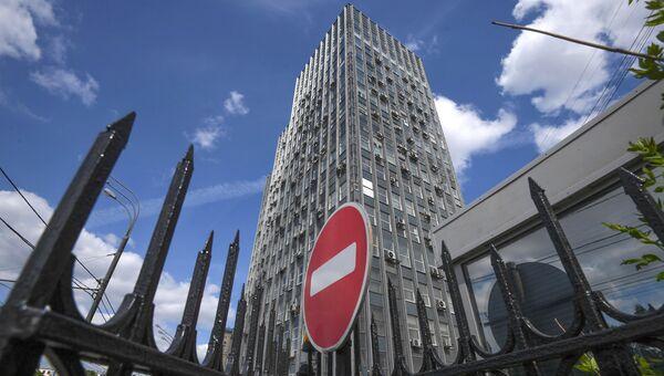 Здание ЦБ России на Ленинском проспекте. Архивное фото