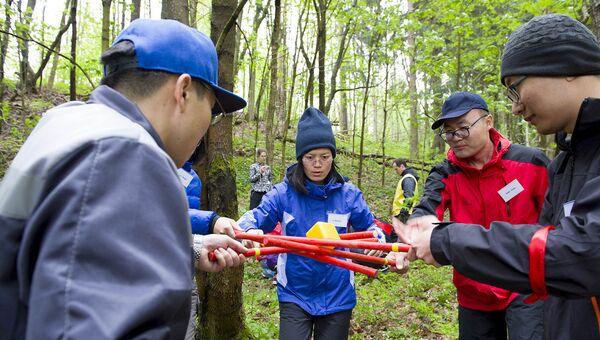Китайские экологи прошли подготовку перед экспедицией Гогланд