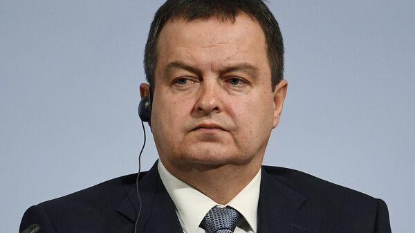 Первый вице-премьер и министр иностранных дел Сербии Ивица Дачич