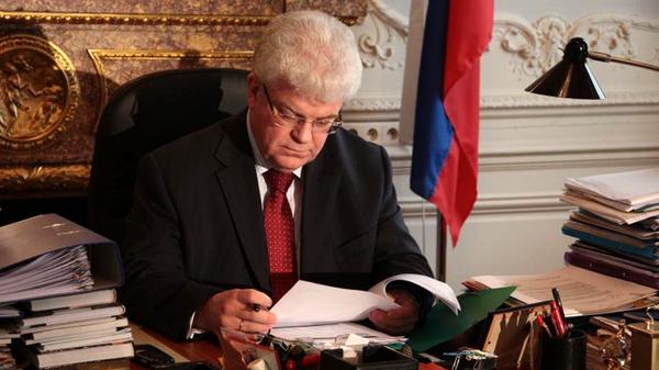 Представитель РФ при Евросоюзе Владимир Чижов