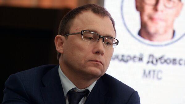 Генеральный директор Tele2 Сергей Эмдин на Санкт-Петербургском международном экономическом форуме 2017