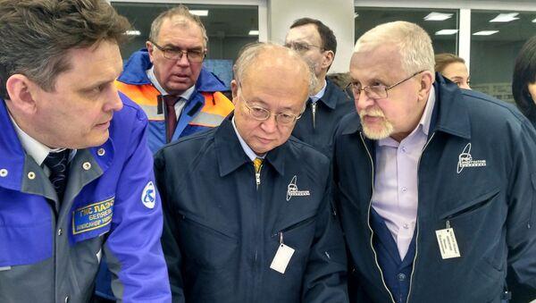 Визит главы МАГАТЭ Юкио Амано на ЛАЭС
