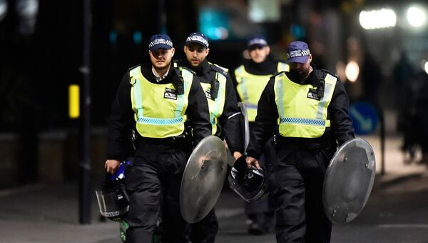 Лондонская полиция. 4 июня 2017 года