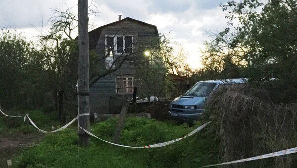 Место массового убийства в поселке Редкино Тверской области