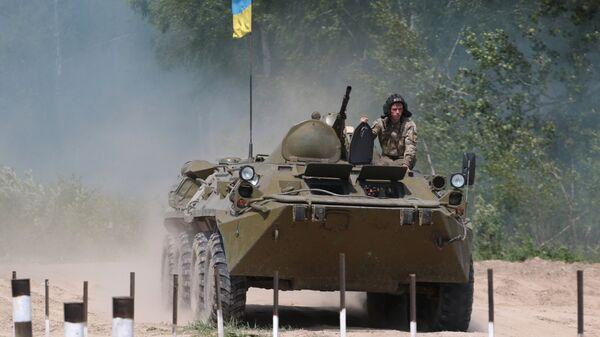 Украинский БТР-80