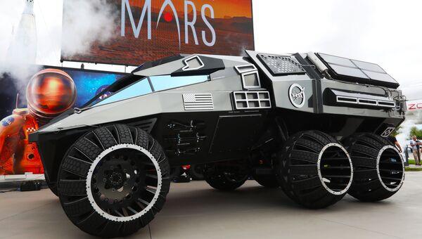 Прототип автомобиля для Марса Mars Rover в Космическом центре имени Кеннеди