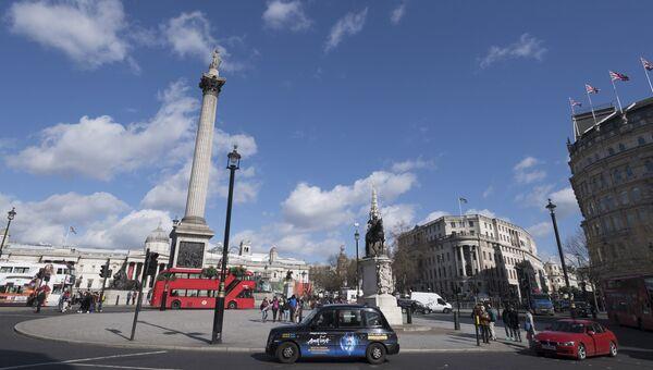 Трафальгарская площадь в Лондоне. Архивное фото