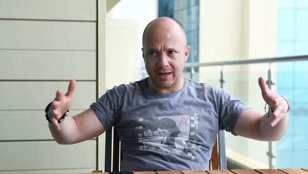 Актер Евгений Стычкин на 28-м Открытом российском кинофестивале Кинотавр в Сочи