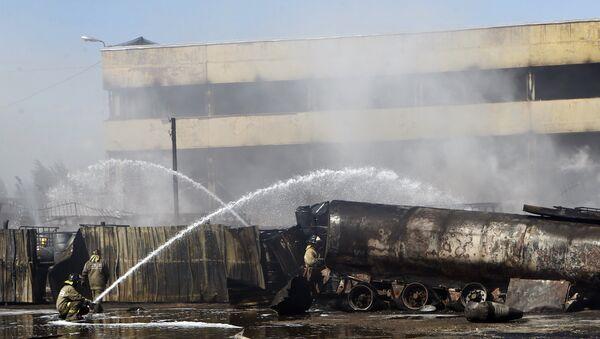 Пожар в Ярославле