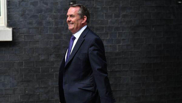 Министр международной торговли Великобритании Лиам Фокс. 11 июня 2017