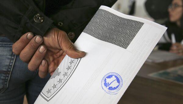Парламентские выборы в Косово