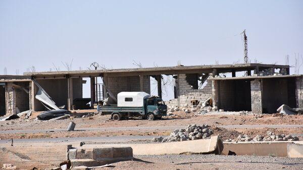 Освобожденный пригород сирийского города Ракка. Архивное фото
