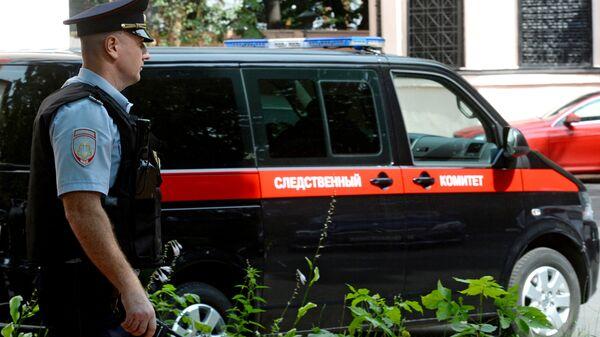 Сотрудник правоохранительных органов в Москве. Архивное фото